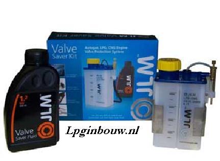 JLM Valvesaverset incl. 1 L valvesaver + led aanduiding leeg-indicatie !  (Aanbieding online én uit voorraad leverbaar ! )